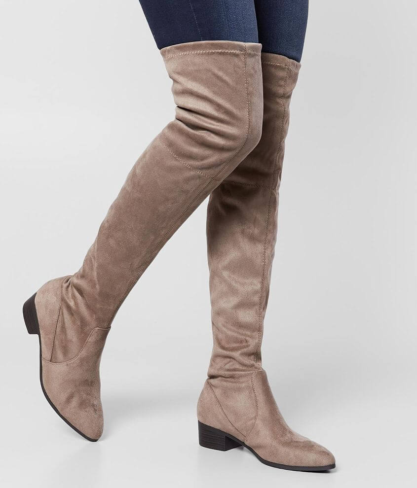 Cityclassified Tutors Over The Knee Boot front view