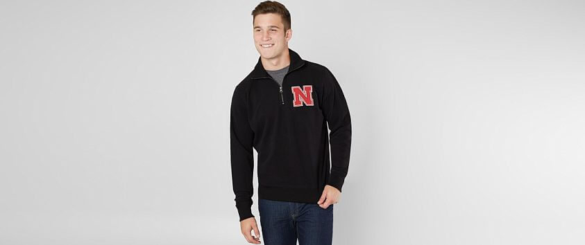 '47 Brand Nebraska Huskers Pullover front view