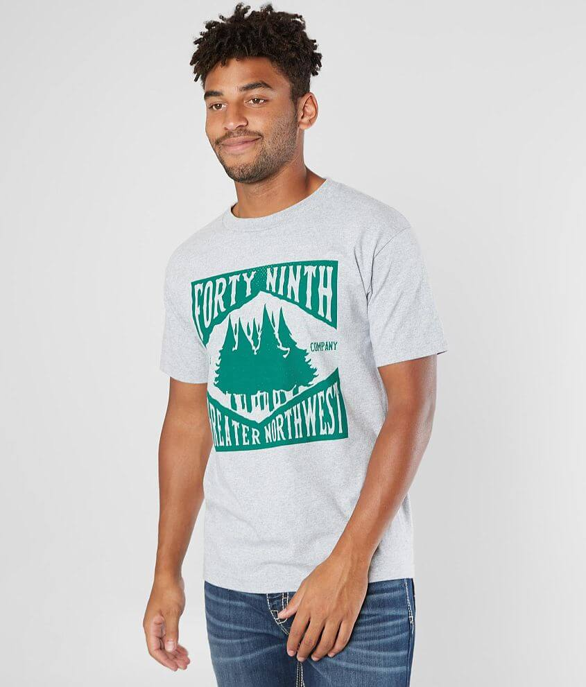 The 49th Supply Co. The Greater NW T-Shirt front view