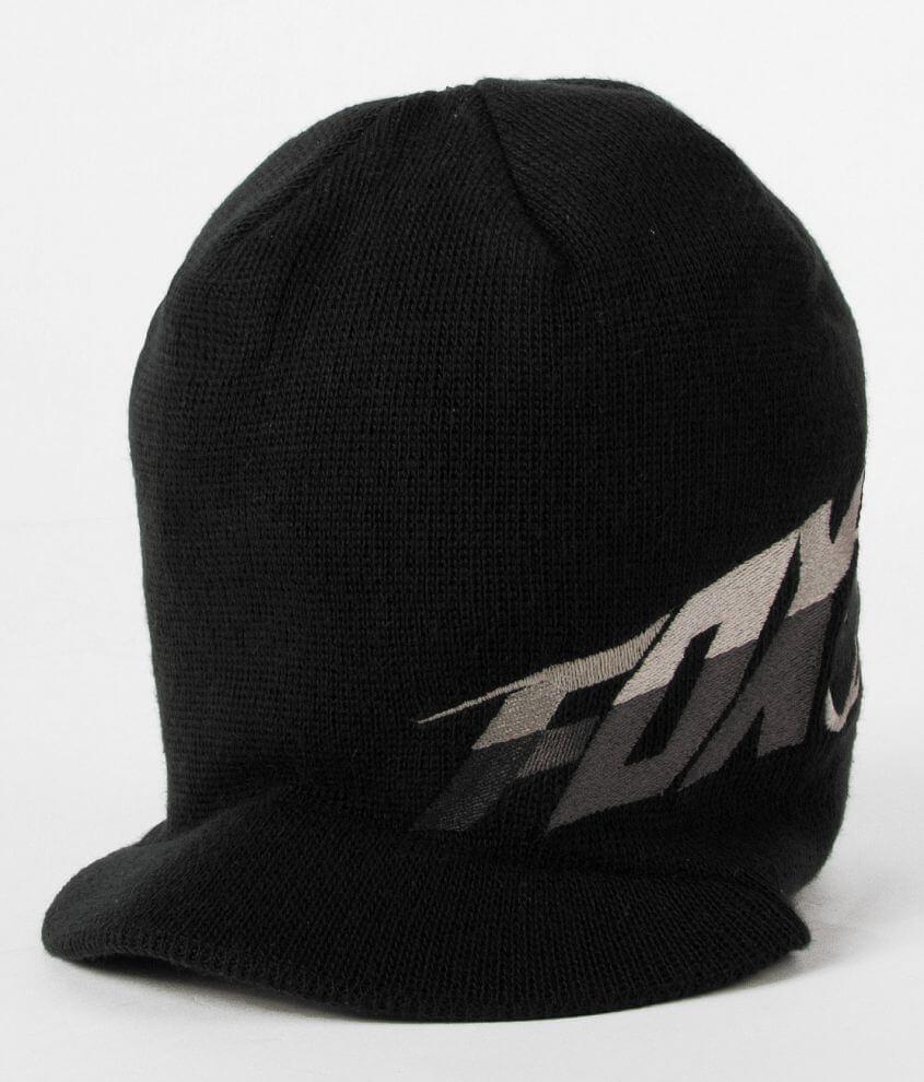 69b543bf9 Fox Superfaster Visor Beanie - Men's Hats in Black | Buckle