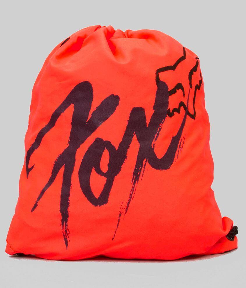 Fox Drawstring Bag front view