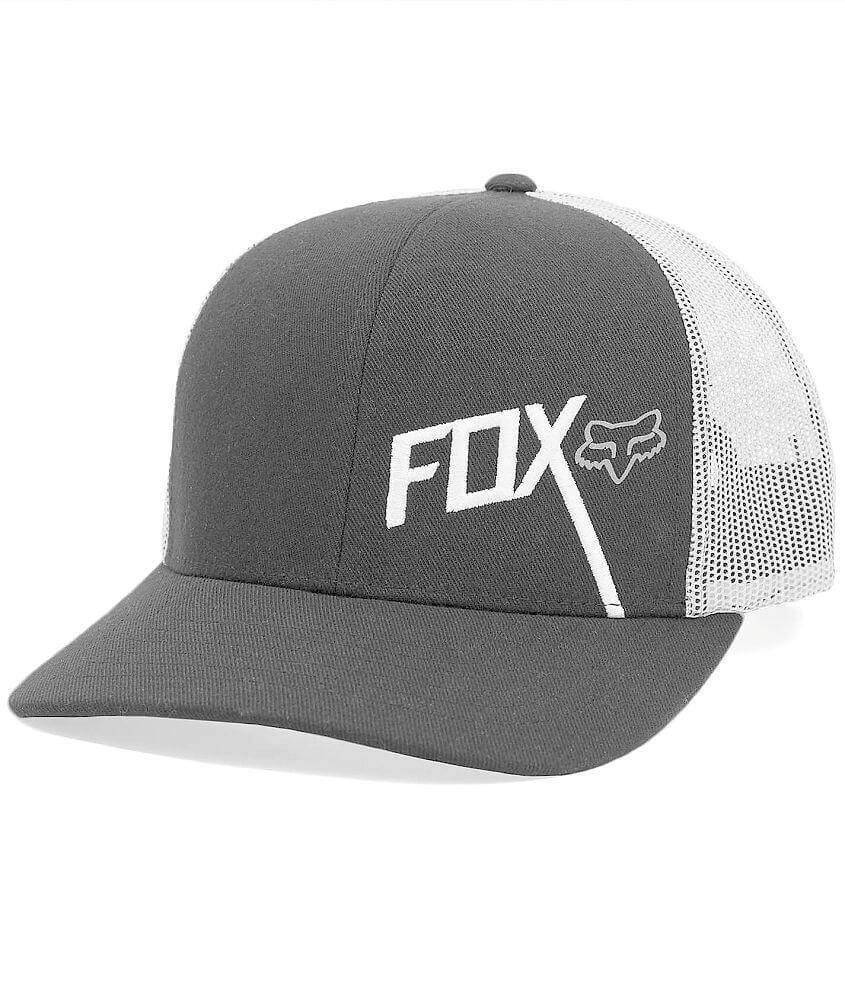 Fox Pointback Trucker Hat front view