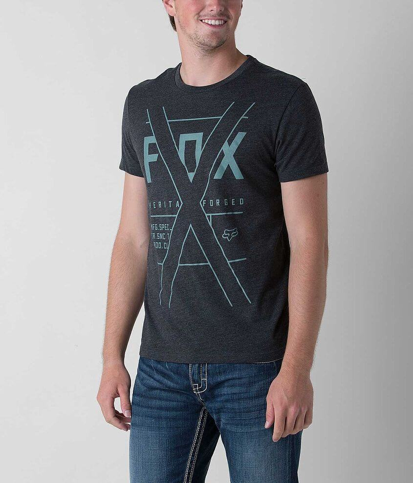 Fox Crossed Fiction T-Shirt front view