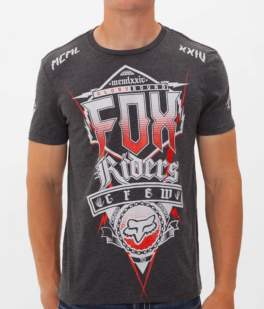 Fox Punker T-Shirt front view