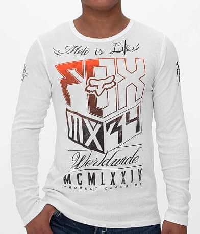 Fox Rust Inhaler Thermal Shirt