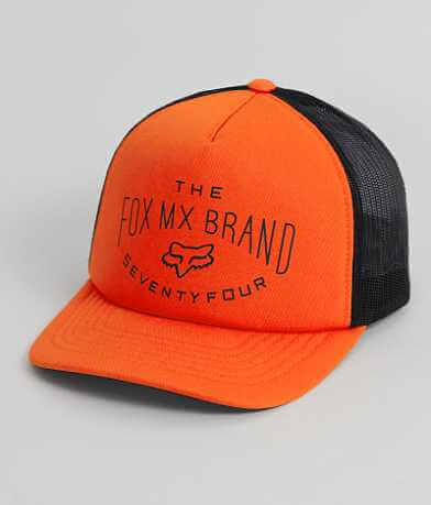 Fox Thrashed Trucker Hat