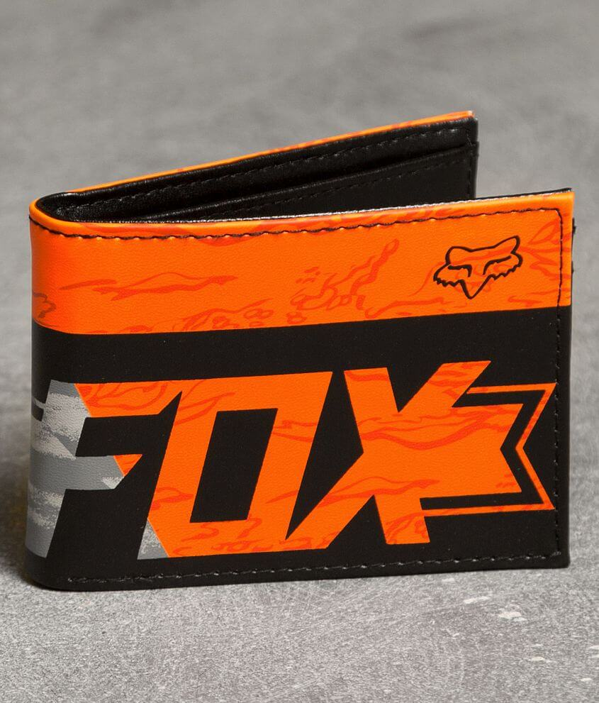 Fox Crackling Wallet front view