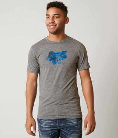 Fox Stenciled T-Shirt