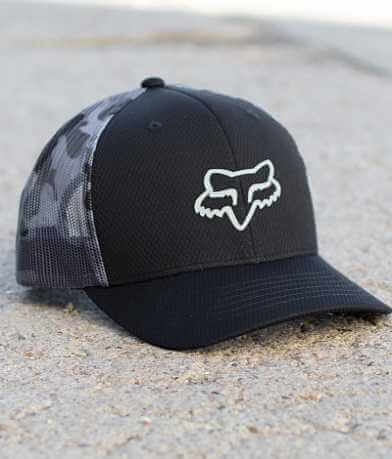 Fox Stepped Trucker Hat
