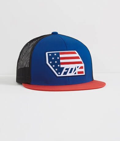 Fox Red, White & True Trucker Hat