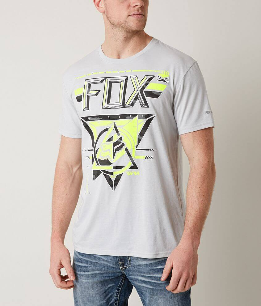 Fox Raked Tech T-Shirt - Men s T-Shirts in Light Heather Grey  4f63956f8