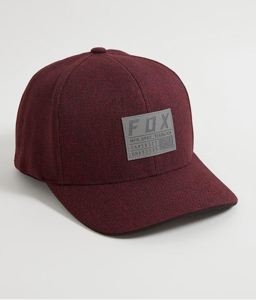 2e1ba13e Fox Abyssmal 110 Flexfit Hat - Men's Hats in Heather Red | Buckle