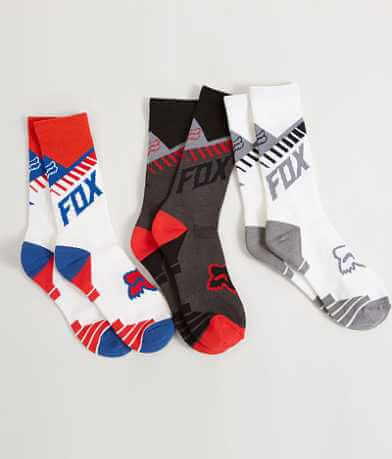 Fox Core 3 Pack Socks