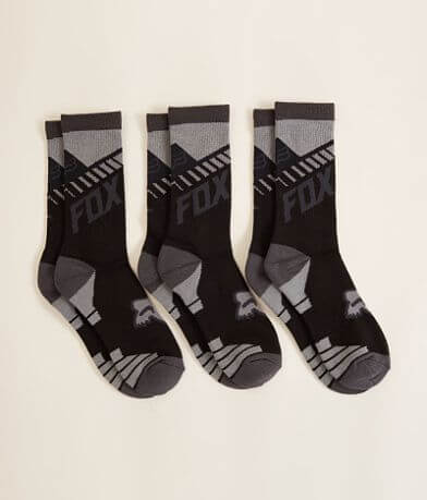 Fox Core Crew 3 Pack Socks