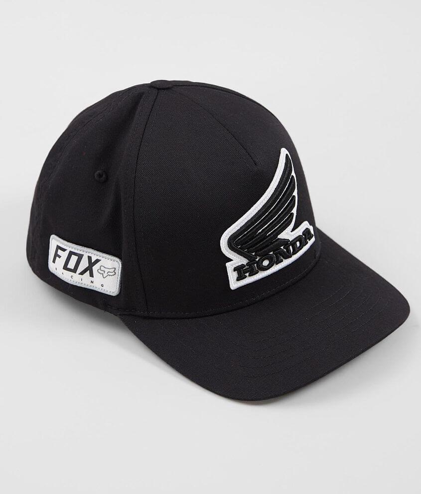 35a6ecb06ceb2 Fox Honda Stretch Hat - Men s Hats in Black
