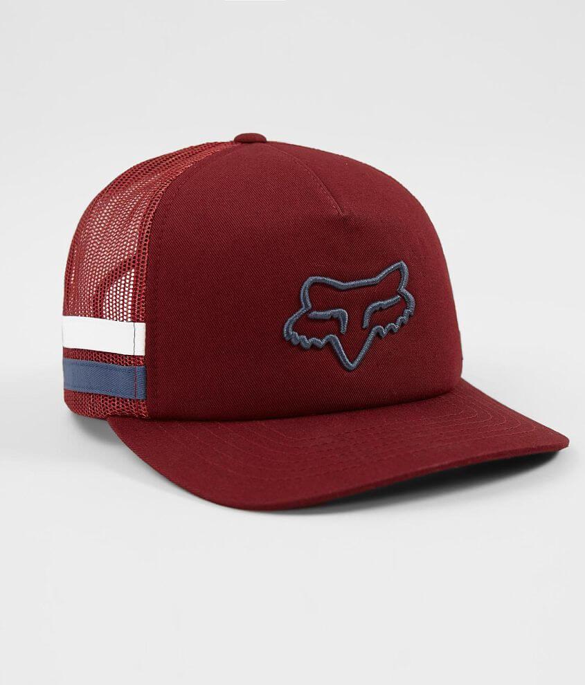 Fox Head Trick Trucker Hat - Women s Hats in Bordeaux  1293bec6bf26