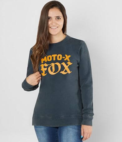 Fox Moto X Crew Washed Sweatshirt