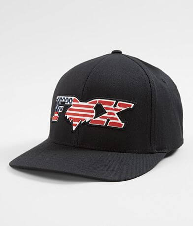 Fox Flag Head Stretch Hat