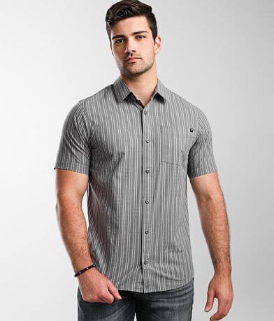 Fox Branam Striped Stretch Shirt