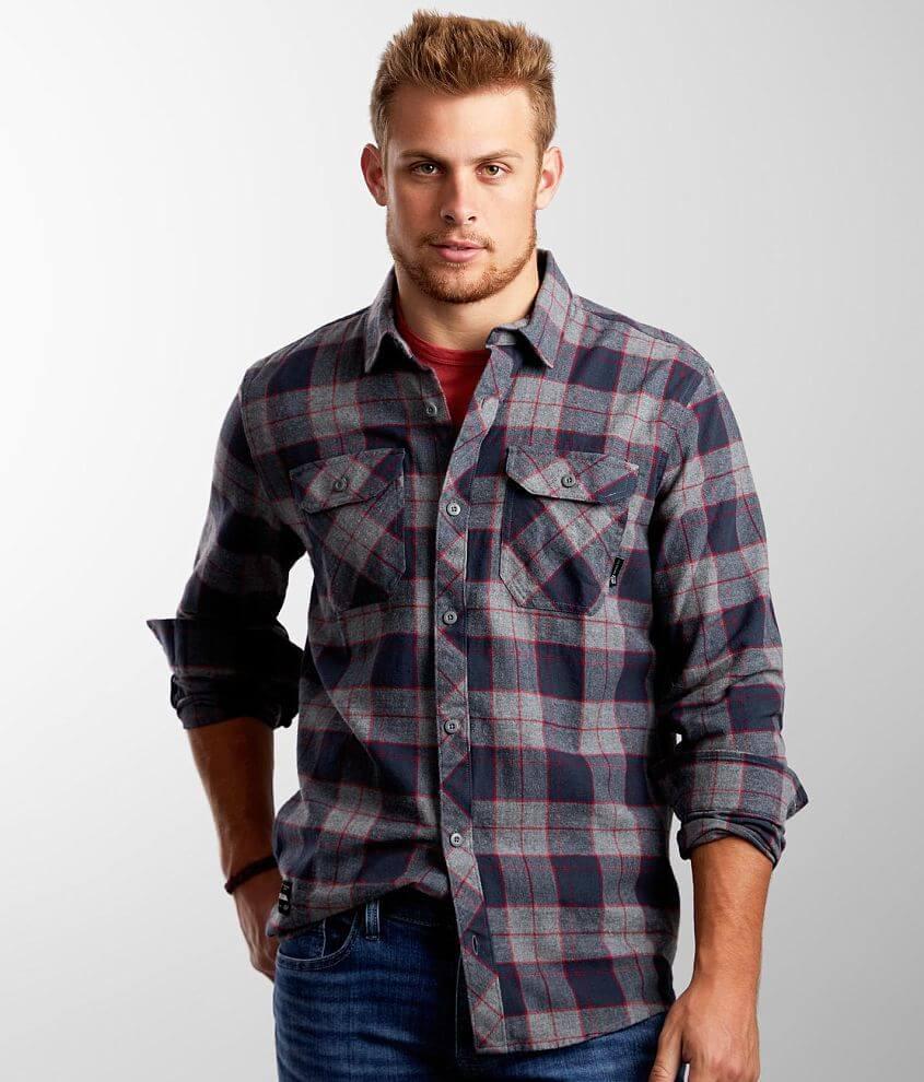 Fox Traildust 2.0 Flannel Shirt front view