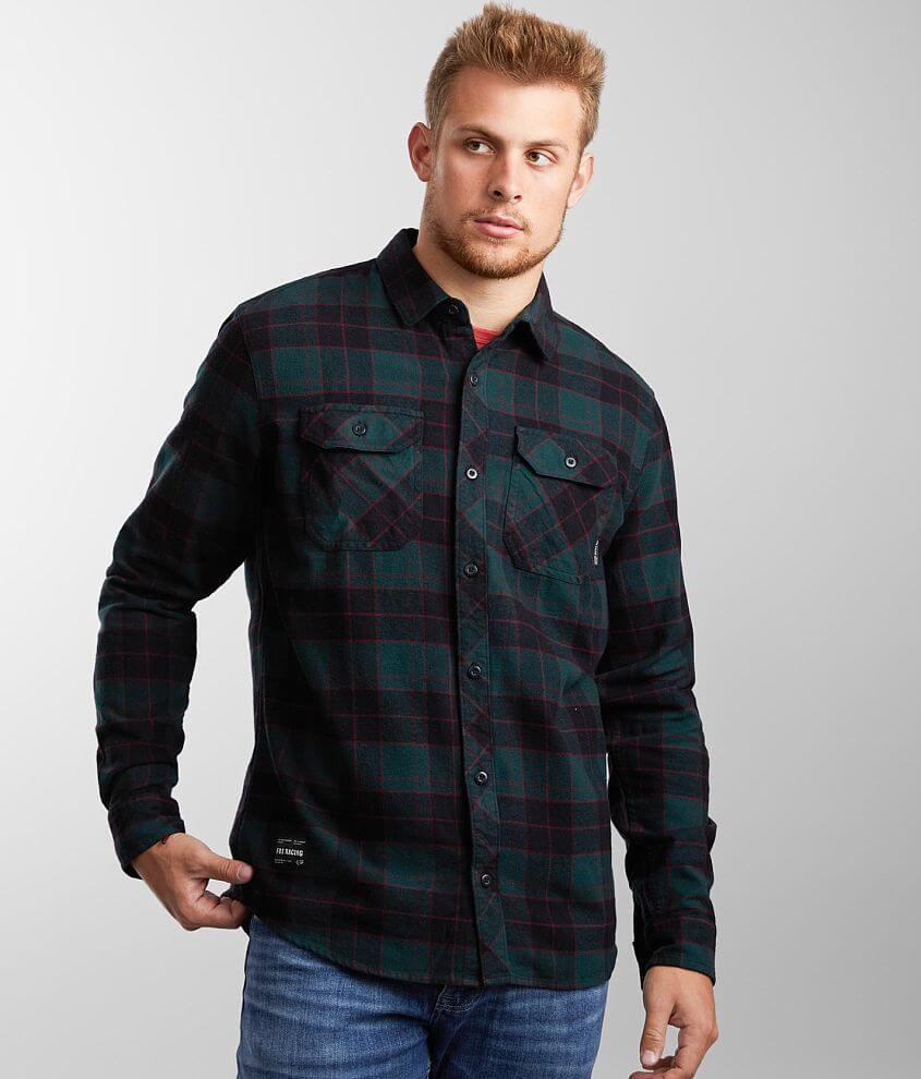 Fox Racing Traildust 2.0 Flannel Shirt front view