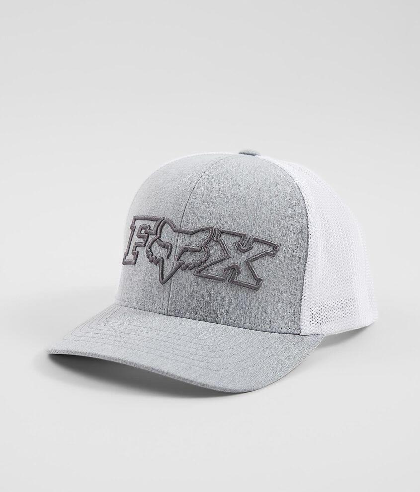 85d40bf7 Fox Sonicay 110 Flexfit Trucker Hat - Men's Hats in Heather Grey ...