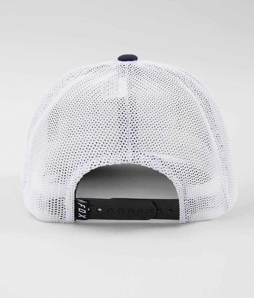 Fox Downshift 110 Flexfit Tech Trucker Hat - Men s Hats in Navy  8b972826708f