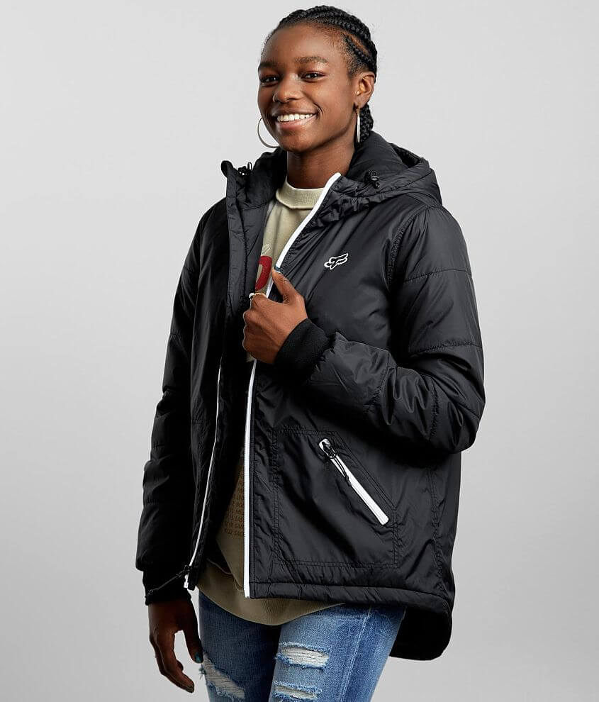 Fox Gravity Hooded Jacket front view