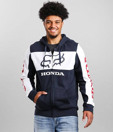 Fox Racing Honda Color Block Hoodie