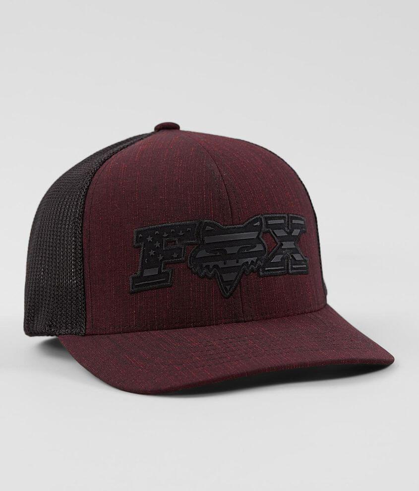 Fox Encumber 110 Flexfit Tech Trucker Hat front view