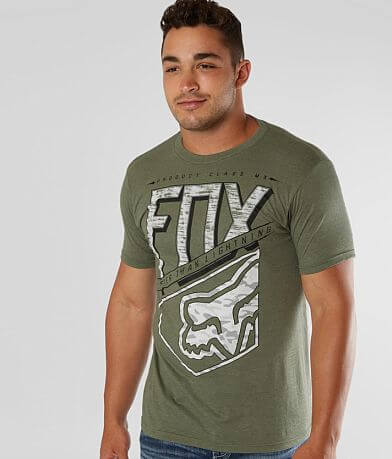 Fox Straight Check T-Shirt