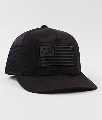 Fox Ghosted Camo 110 Flexfit Trucker Hat