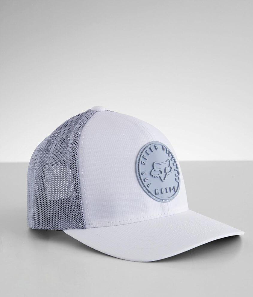 Fox Rip Abyss Flexfit 110 Trucker Hat front view