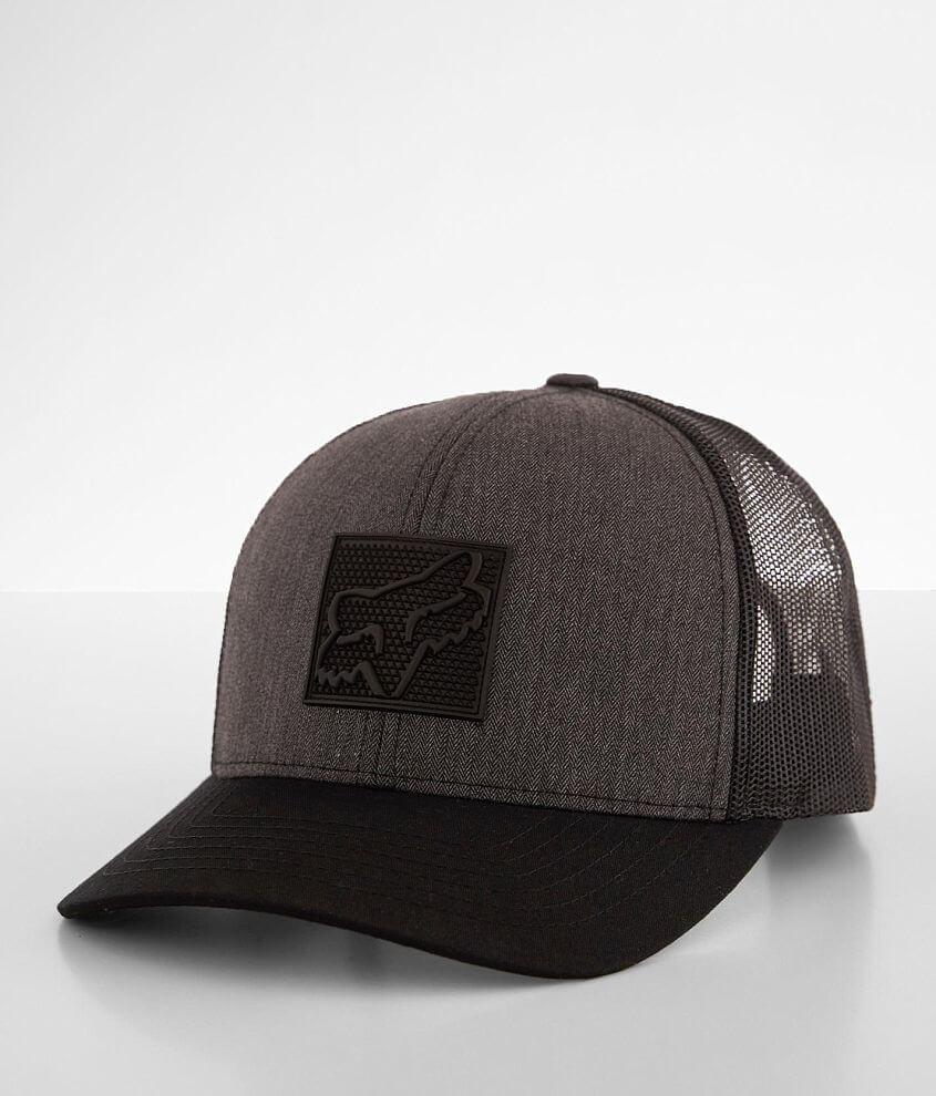 Fox Mutter Dark Trucker Hat front view