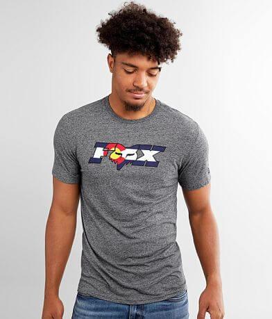 Fox Head Colorado Flag T-Shirt