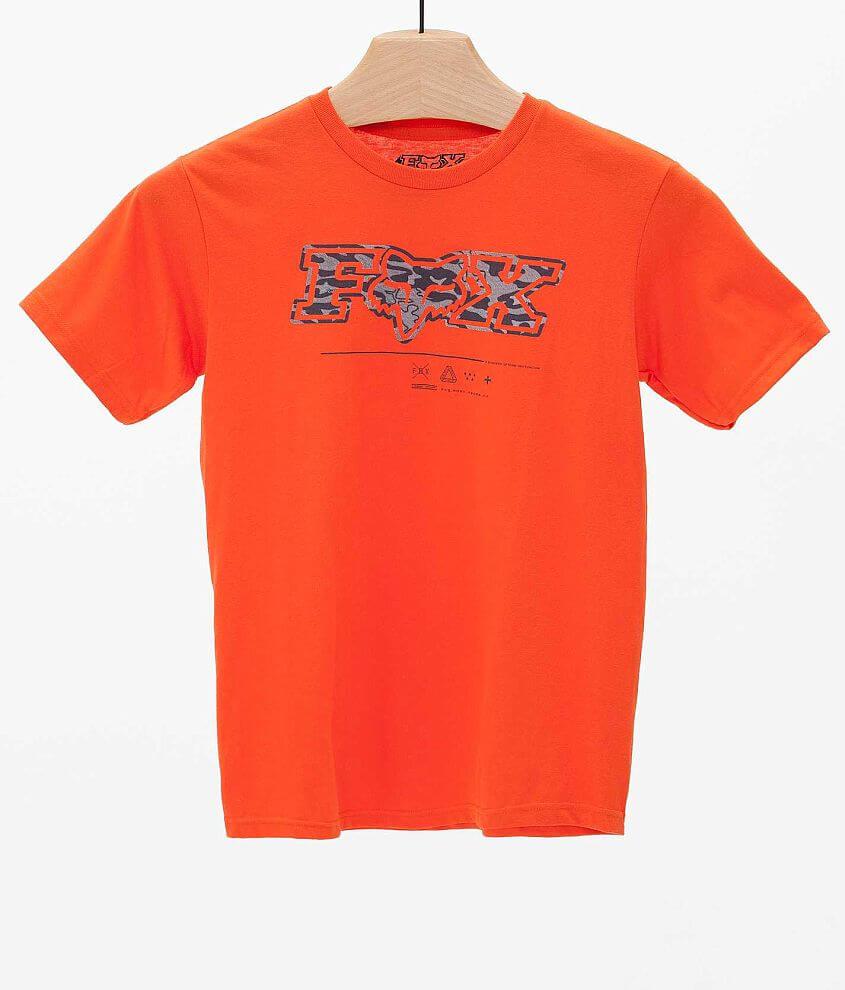 Boys - Fox Sandstorm T-Shirt front view