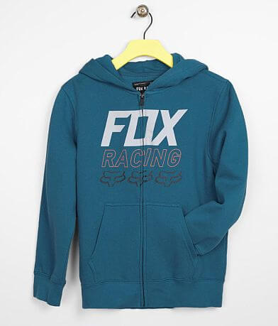 Boys - Fox Racing Overdrive Zip Front Hoodie