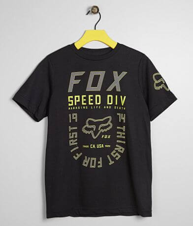 Boys - Fox Quenchr Outline T-Shirt