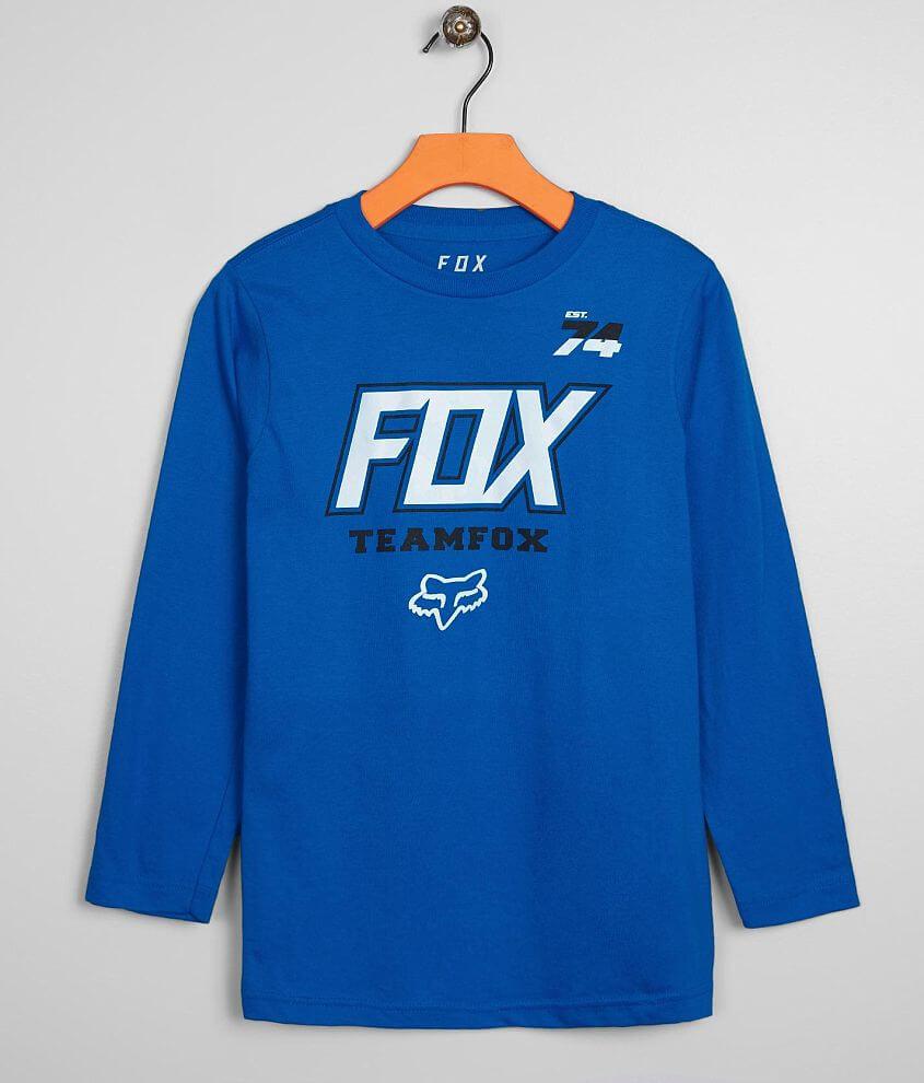 Boys - Fox Team Fox T-Shirt front view