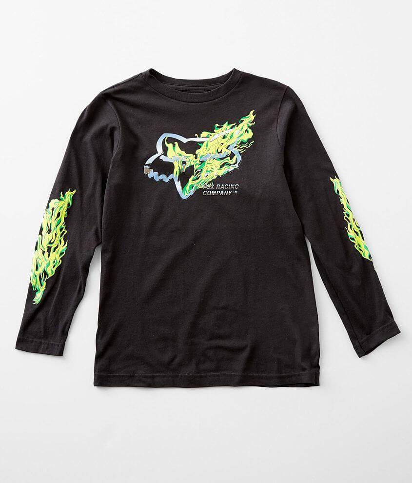 Boys - Fox Racing Turn N Burn T-Shirt front view