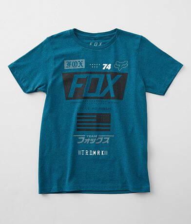 Boys - Fox Union Cut T-Shirt