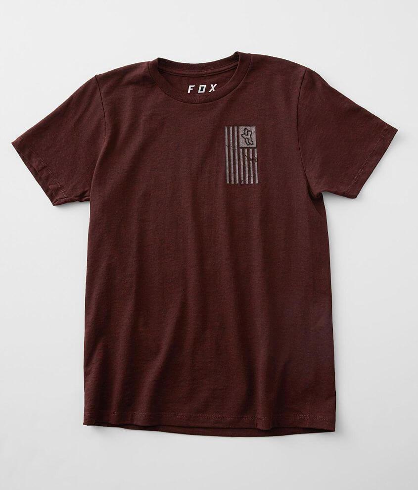Boys - Fox Flagged T-Shirt front view