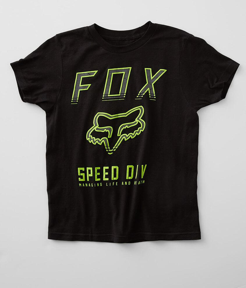 Boys - Fox Inside Speed T-Shirt front view
