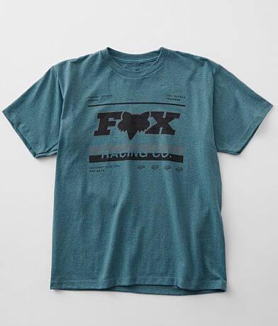 Boys - Fox Paused Flag T-Shirt