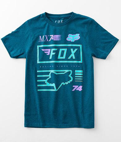 Boys - Fox Back Overview T-Shirt
