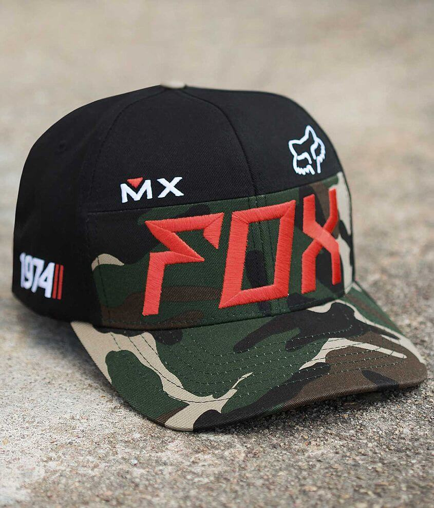 Fox Exhaust Hat front view