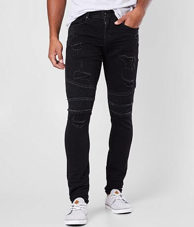 Departwest Trouper Moto Skinny Stretch Jean