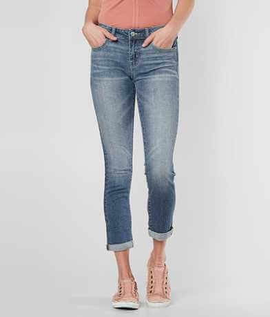BKE Stella Mid-Rise Stretch Crop Jean