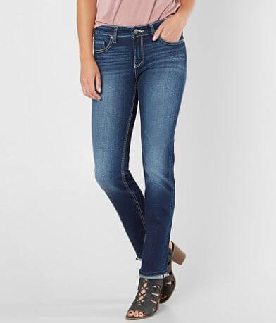 BKE Payton Mid-Rise Straight Stretch Jean