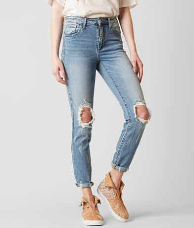 Gilded Intent High Rise Ankle Skinny Stretch Jean